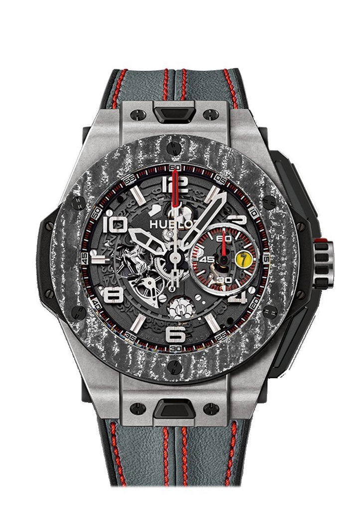 Hubolt Big Bang 45mm Ferrari Carbon Limited Edition Men's Watch 401.NJ.0123.VR