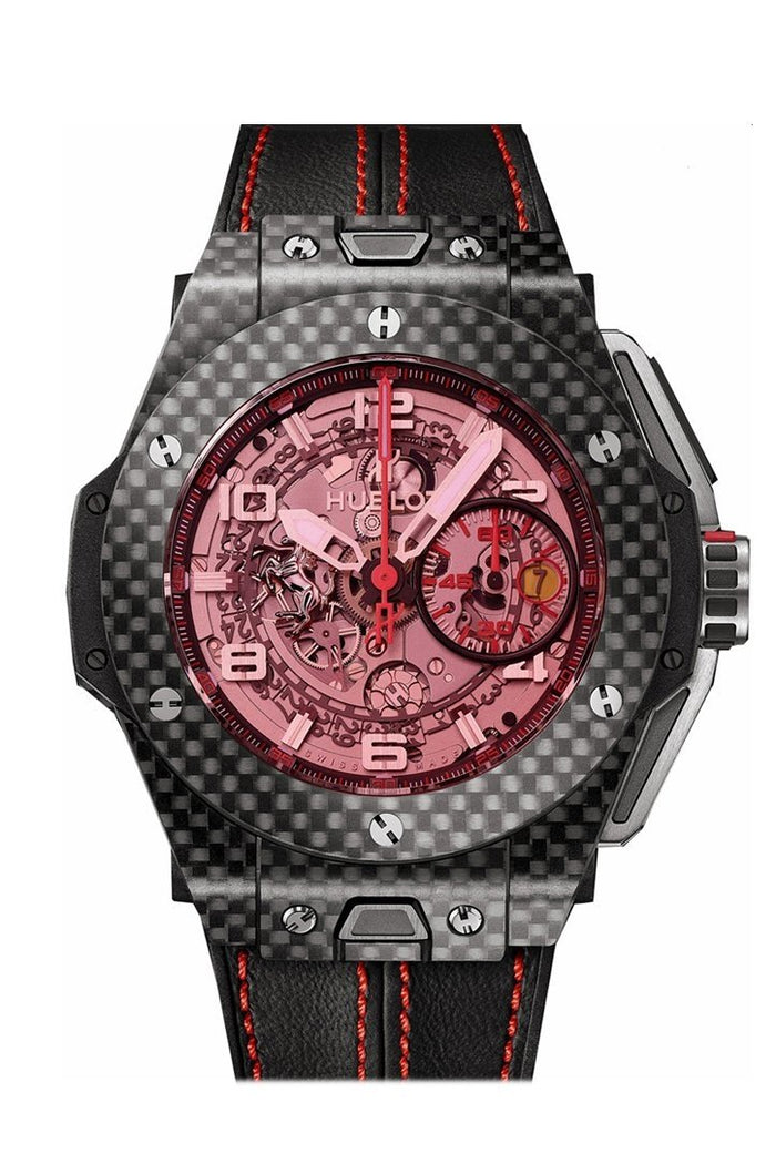 Hublot Big Bang 45mm Unico Ferrari Mens Watch 401.QX.0123.VR