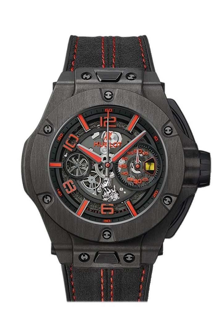 Hublot Big Bang 45mm Unico Ferrari Mens Watch 402.QU.0113.WR