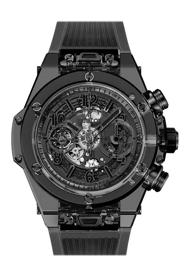 Hubolt Big Bang Unico Automatic Men's Chronograph Limited Edition Watch 411.JB.4901.RT