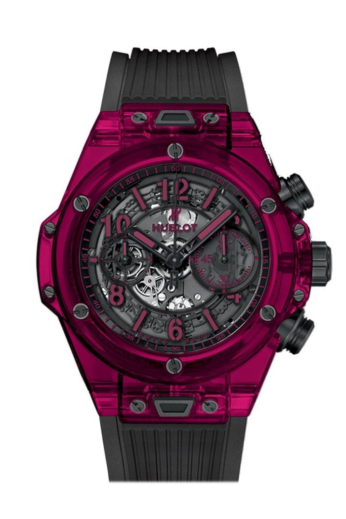 Hublot Big Bang 45mm Unico Automatic Men's Chronograph Limited Edition Watch 411.JR.4901.RT