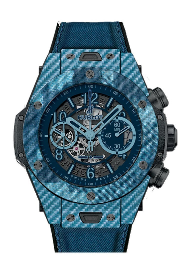 Hublot Big Bang 45mm UNICO Italia Independent Skeleton Dial Limited Edition Men's Watch 411.YL.5190.NR.ITI15