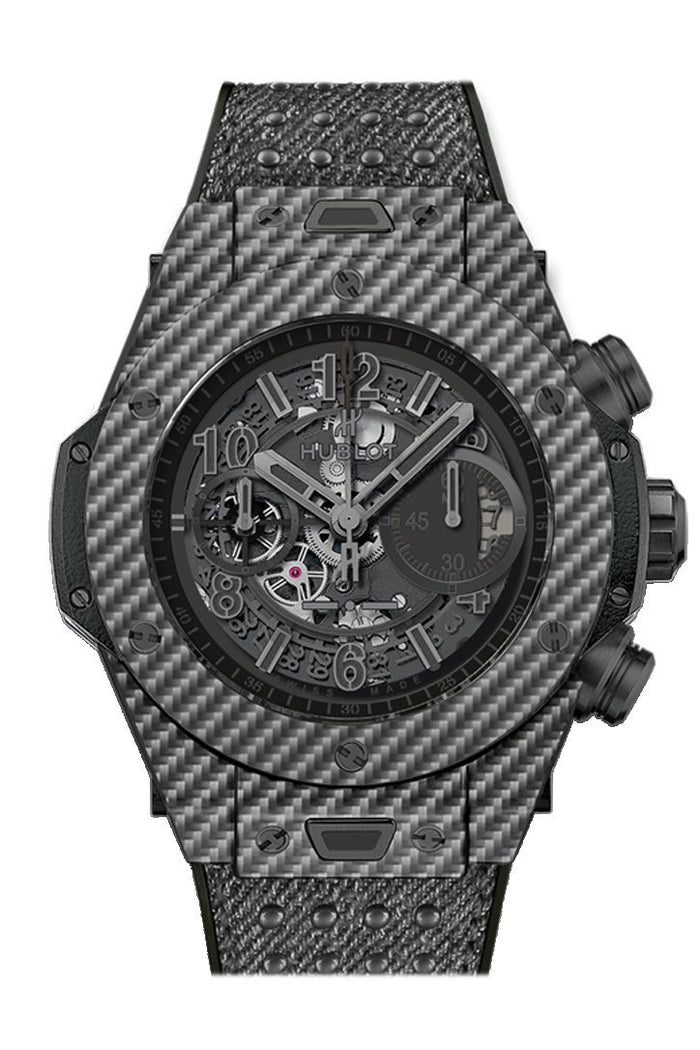 Hubolt Big Bang  45mm UNICO Italia Independent Skeleton Dial Limited Edition Men's Watch 411.YT.1110.NR.ITI15