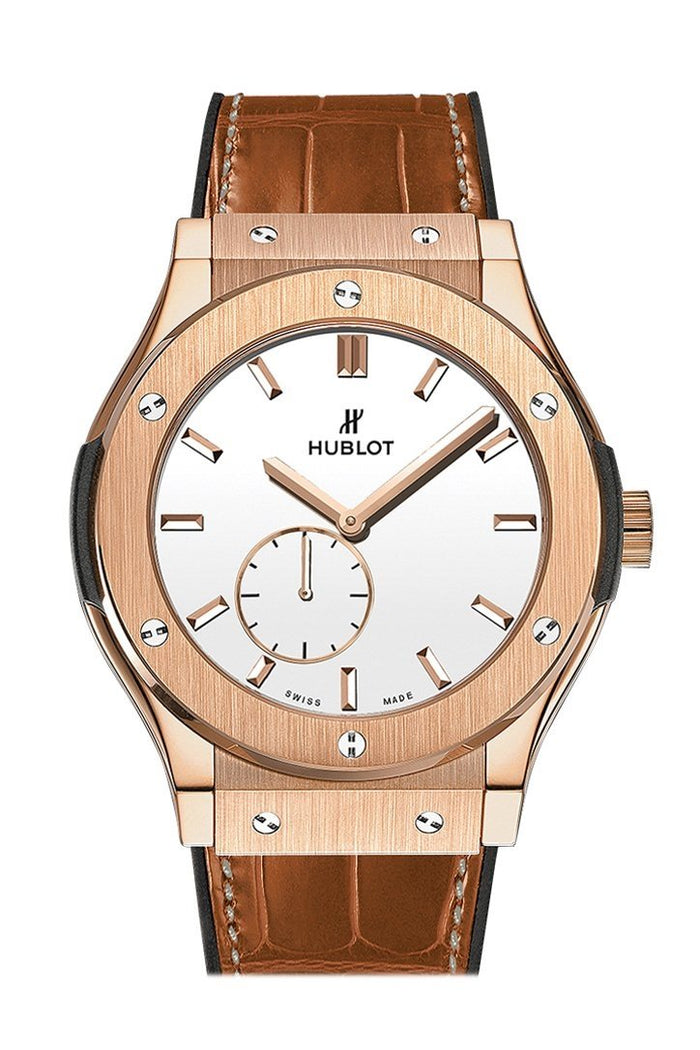Hublot Classic Fusion 45mm  Classico Ultra Thin White Dial Men's Watch 515.OX.2210.LR