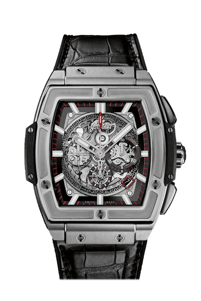 Hublot Spirit of Big Bang 45mm Titanium Automatic Men's Watch 601.NX.0173.L