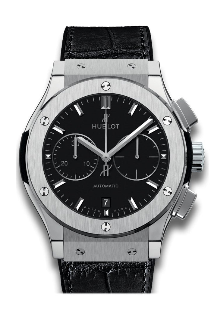 Hublot Classic Fusion Black Dial Chronograph 45mm Men's Automatic Watch 521.NX.1171.RX