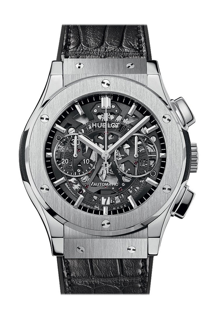 Hublot Classic Fusion Automatic Skeleton Dial 45mm Men's Watch 525NX0170LR