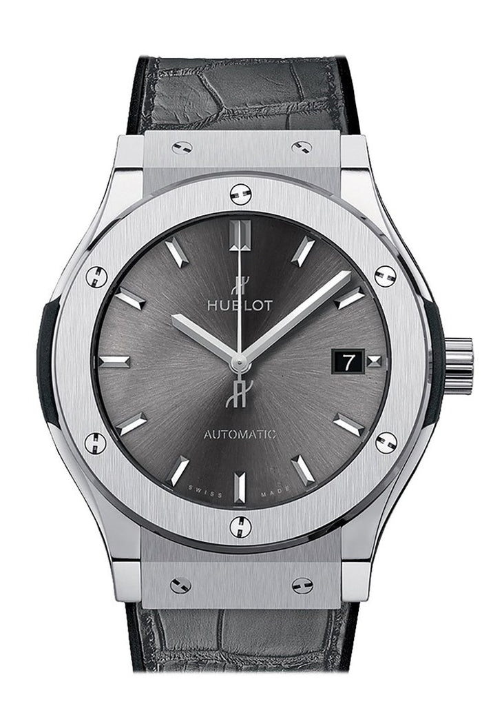 Hublot Classic Fusion Grey Dial Automatic 42mm Men's Watch 542.NX.7071.LR