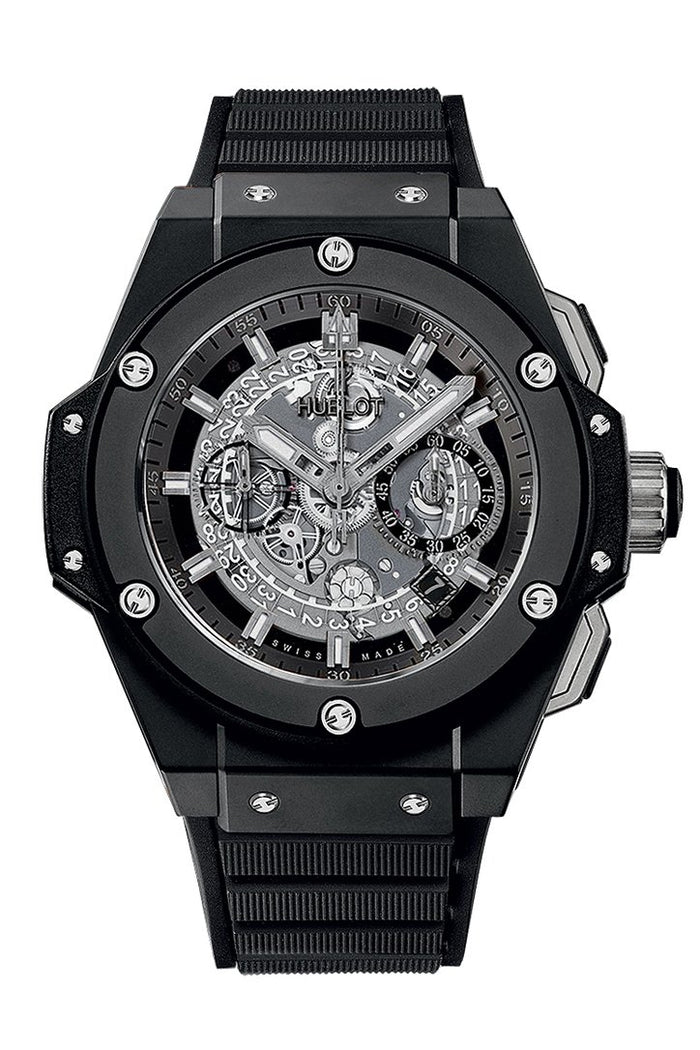 Hublot King Power Unico Skeleton Dial Titanium 45mm Men's Watch 701.CI.0170.RX