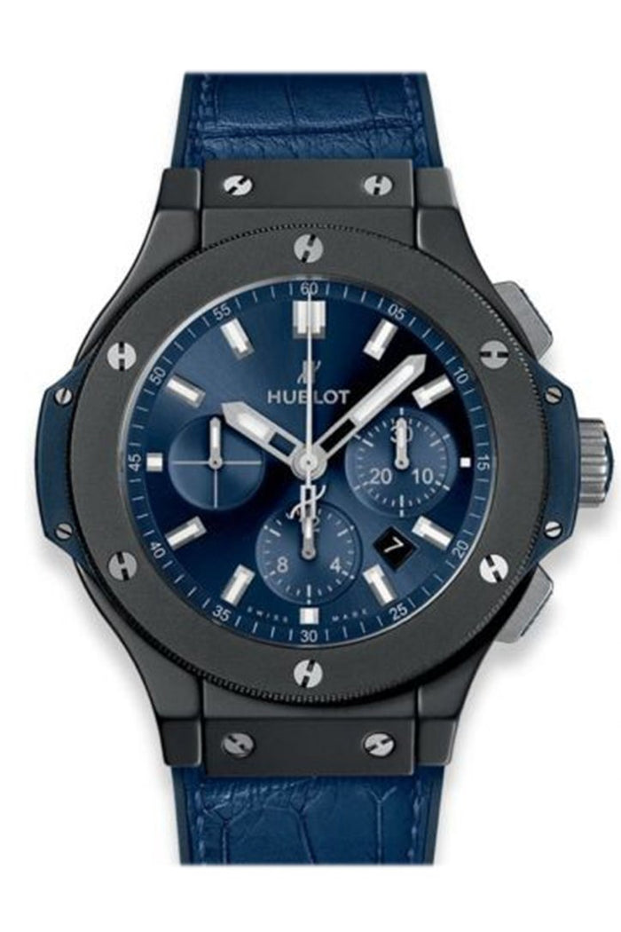 Hublot Big Bang Chronograph Automatic Blue Sunray Dial Men's Watch 301.CI.7170.LR