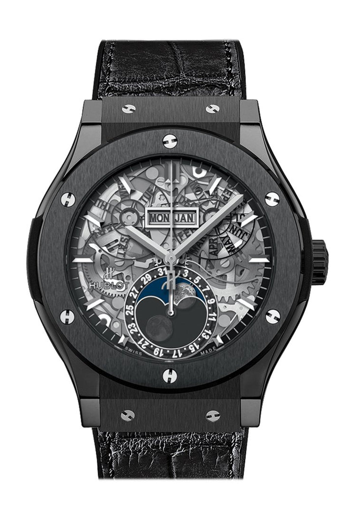 HUBLOT Classic Fusion Automatic Skeleton Dial Men's Watch 517.CX.0170.LR