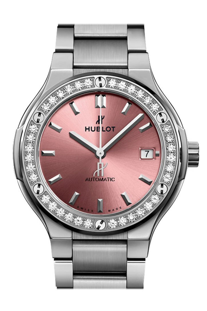Hublot Classic Fusion Automatic 38mm Ladies Watch 568.NX.891P.NX.1204