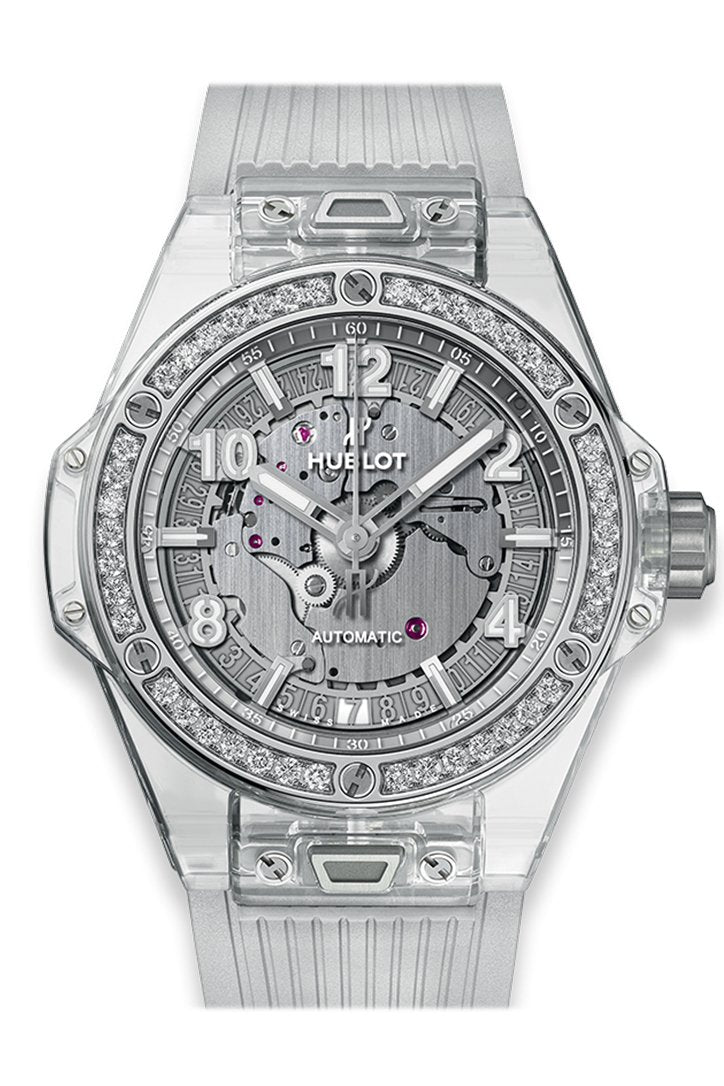 Hublot Big Bang One Click Sapphire Diamonds Watch 465.JX.4802.RT.1204