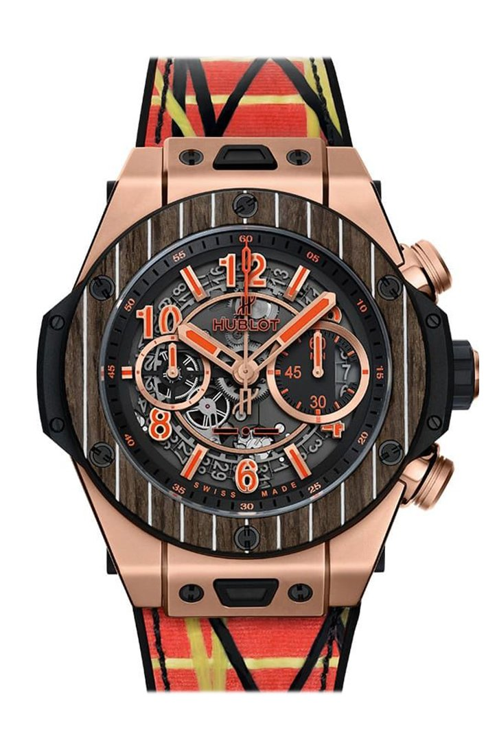 Hublot Big Bang Unico Teak Italia Independent 411.OQ.1189.NR.ITI18