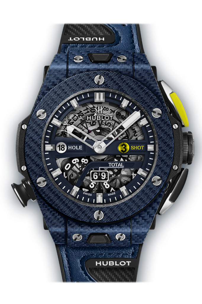 Hublot Big Bang Unico Golf Blue Carbon Watch 416.yl.5120.vr