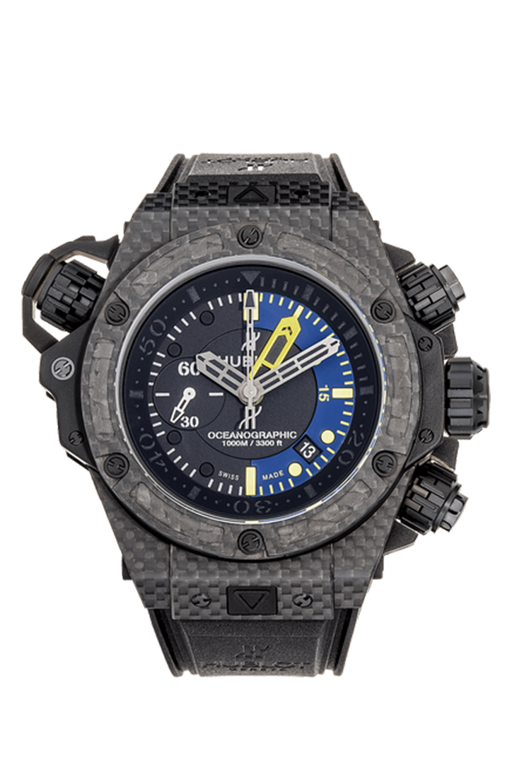 Hublot King Power Oceanographic Automatic Black Dial Men's Watch 732QX1140RX 732.QX.1140.RX
