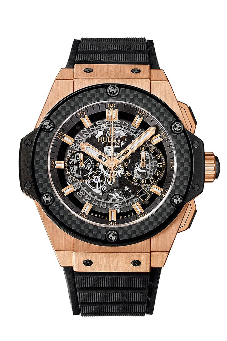 Hublot Classic Fusion Racing Grey King Gold 45mm Watch 511.OX.7081.LR