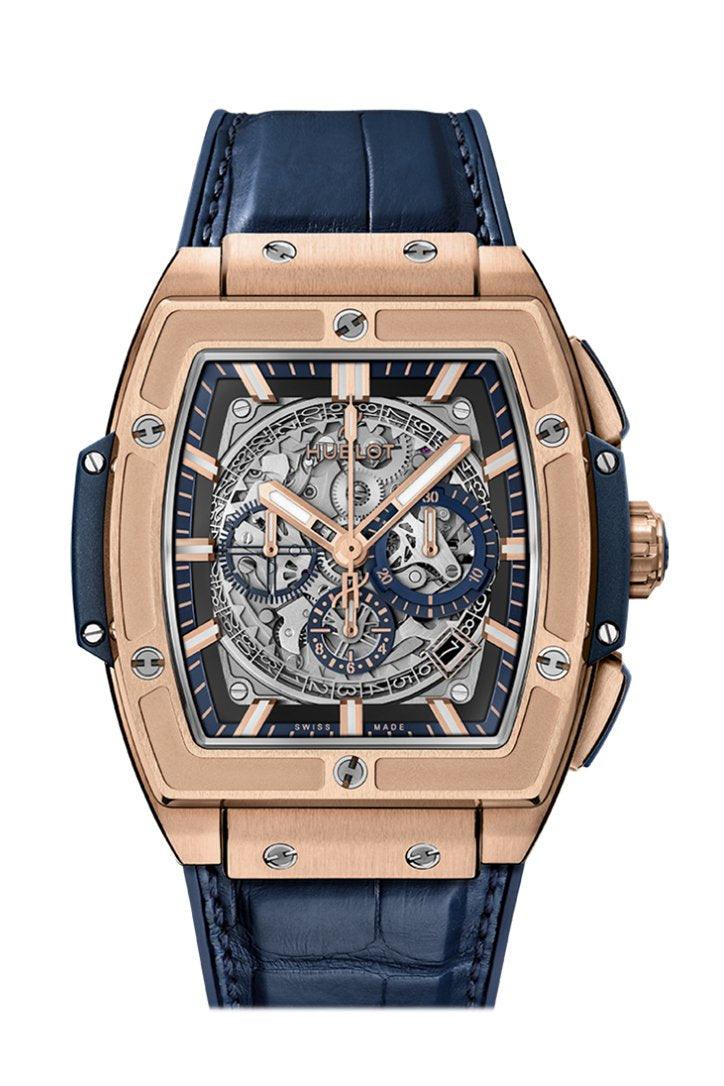 Hublot Big Bang Rose Gold Black Magic Black Carbonfiber 44mm Men's Watch 301.PB.131.RX