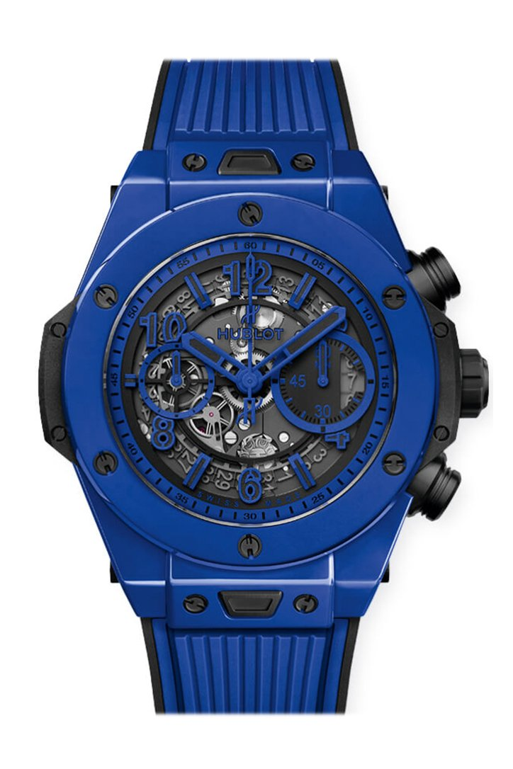 Hublot Big Bang UNICO 45mm Mens Watch RX Blue Magic 411.ES.5119