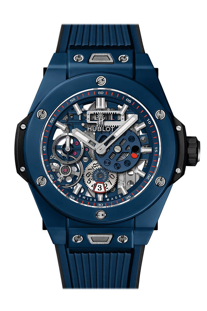 Hublot Big Bang UNICO Mat Black Dial Ceramic Chronograph Men's Watch 415.HX.1170.RX