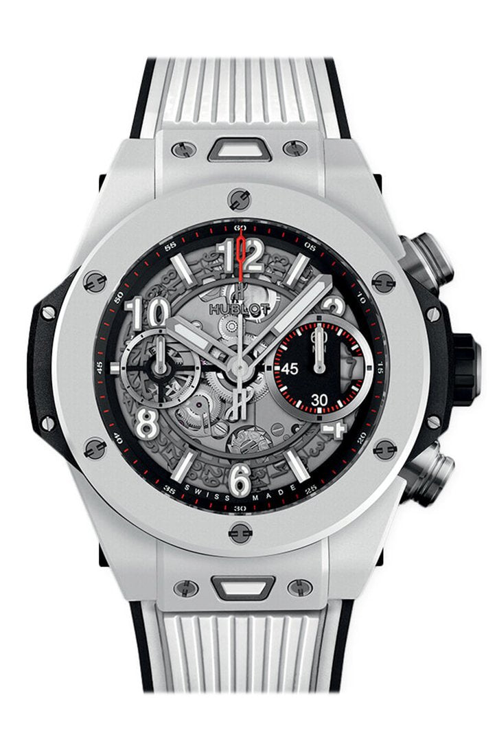 Hublot Big Bang UNICO Mat Black Dial Ceramic Chronograph Men's Watch 441.HX.1170.RX
