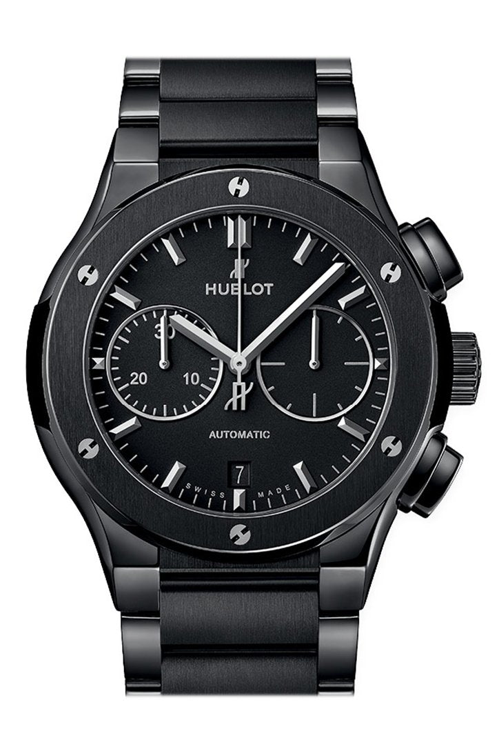 Hublot Classic Fusion Chronograph Automatic Men's Ceramic Watch 520.CM.1170.CM