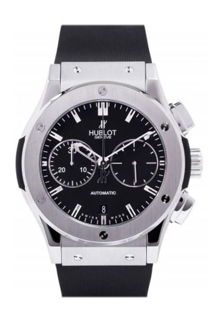 Hublot Classic Fusion Chronograph Black Magic Mat Carbon Fiber Dial Automatic Men's Watch 521.CM.1170.RX