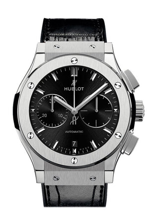 Hublot Classic Fusion Mat Black Dial Automatic Mens Chronograph Watch 541.nx.1171.lr