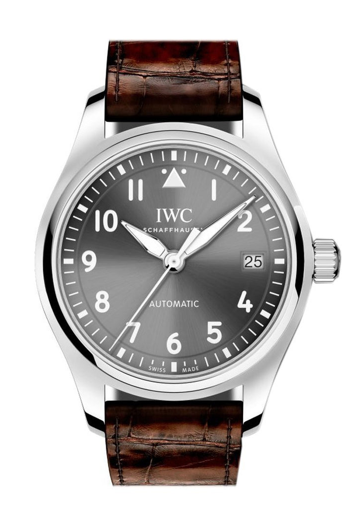 IWC Pilot Slate Grey Dial Automatic 36mm Watch IW324001