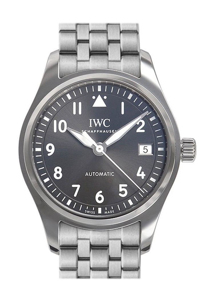 IWC Pilot Automatic Slate Grey Dial 36mm Watch IW324002