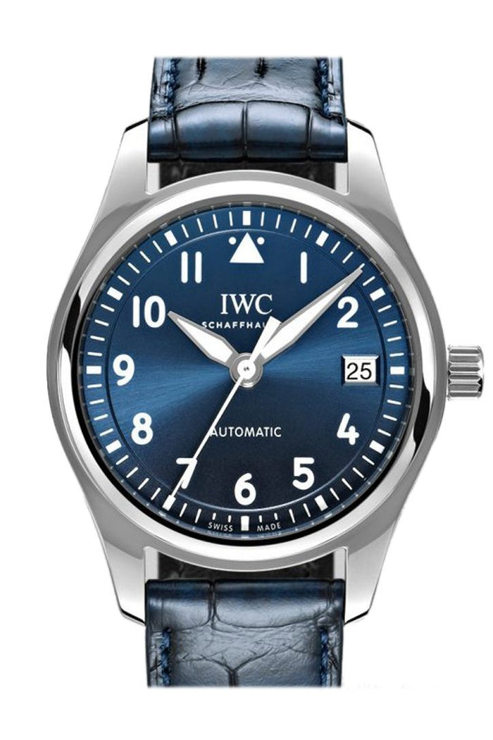 IWC Pilots Blue Dial Automatic 36mm Watch IW324008