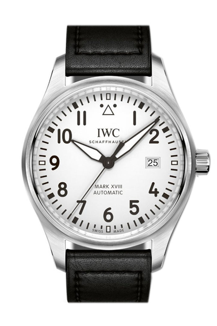 IWC Pilot's Mark XVIII Automatic Silver Dial 40mm Men's Watch IW327002
