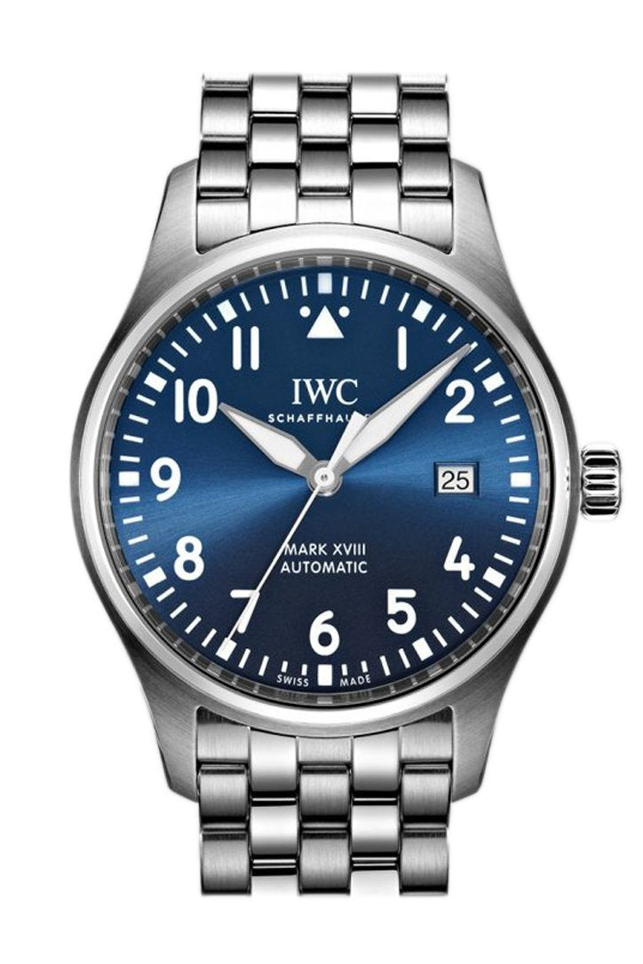 Iwc Le Petit Prince Xviii Automatic Blue Dial 40Mm Mens Watch Iw327014