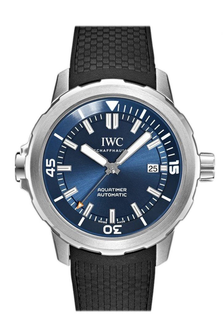 Iwc Aquatimer Automatic Expedition Jacques-Yves Cousteau Blue Dial 42Mm Mens Watch Iw329005