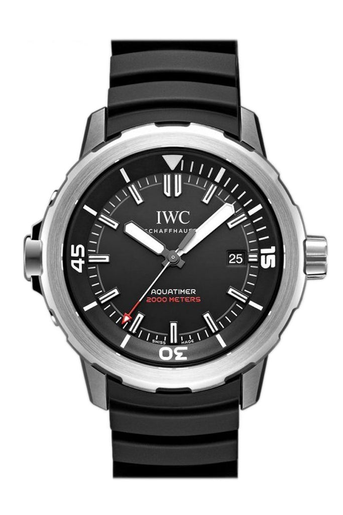 Iwc Aquatimer Automatic 2000 Edition 35 Years Ocean 42Mm Mens Watch Iw329101 Black