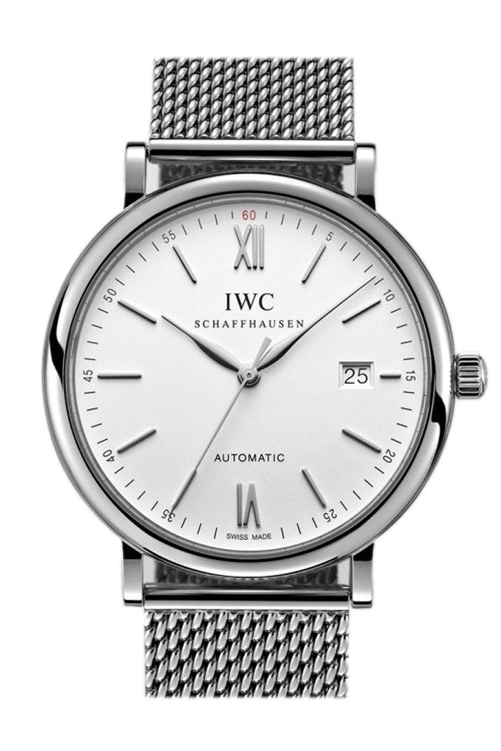 Iwc Portofino Automatic 40Mm Mens Watch Iw356505 White