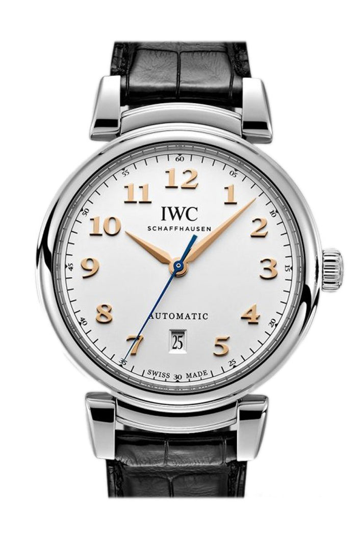 IWC Da Vinci Silver Dial Automatic Leather 40.4mm Men's Watch IW356601