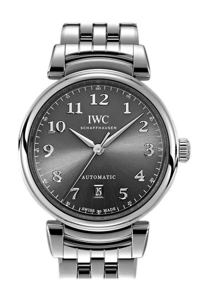 IWC Da Vinci Automatic Slate Dial 40.4mm Men's Watch IW356602