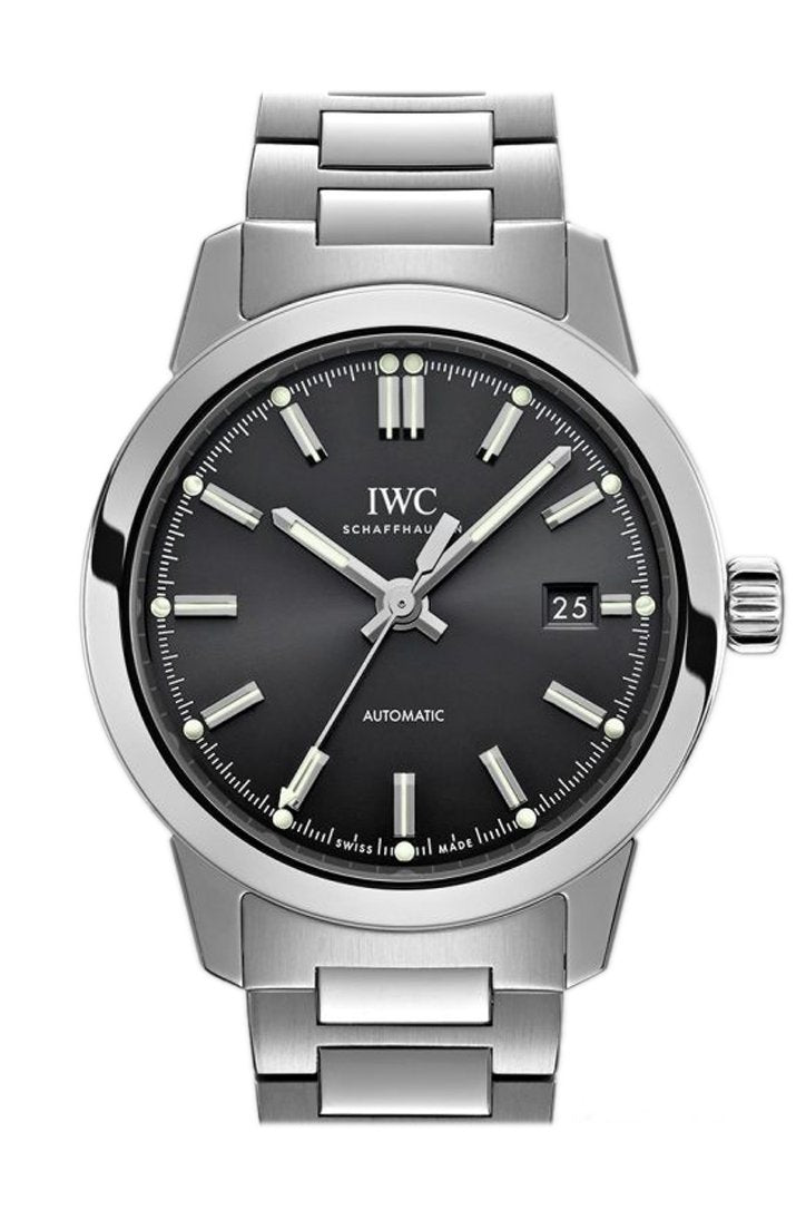 Iwc Ingenieur Automatic Black Dial 40Mm Mens Watch Iw357002