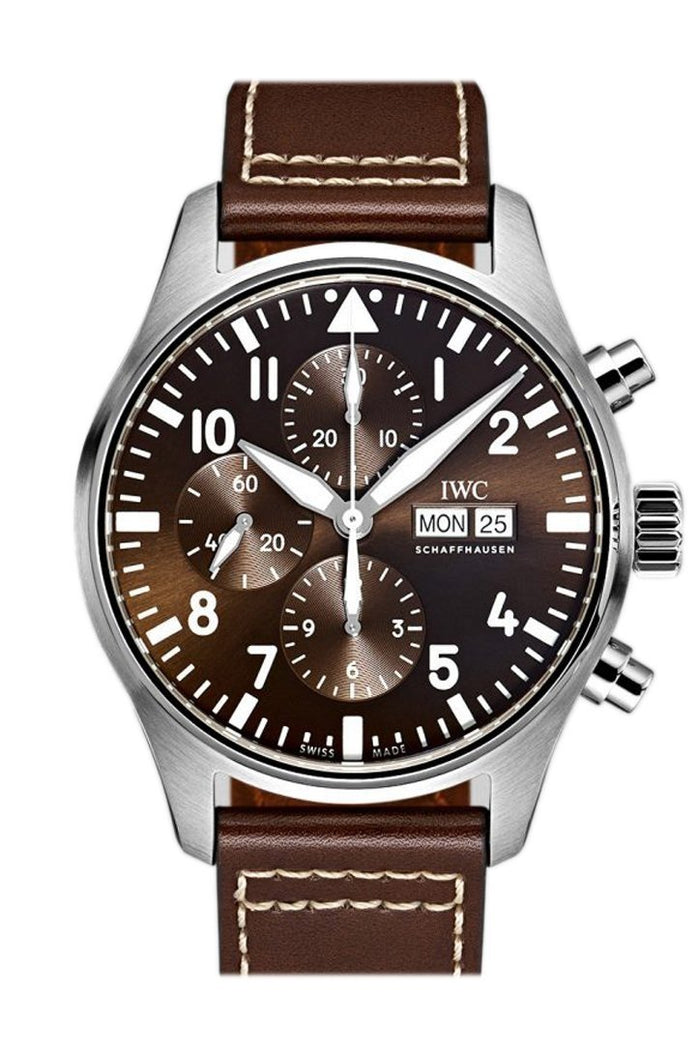 IWC Pilot Antoine de Saint Exupery Chronograph 43mm Men's Watch IW377713