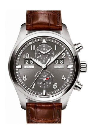 Iwc Pilot Spitfire Perpetual Calendar Automatic 46Mm Mens Watch Iw379107 Slate