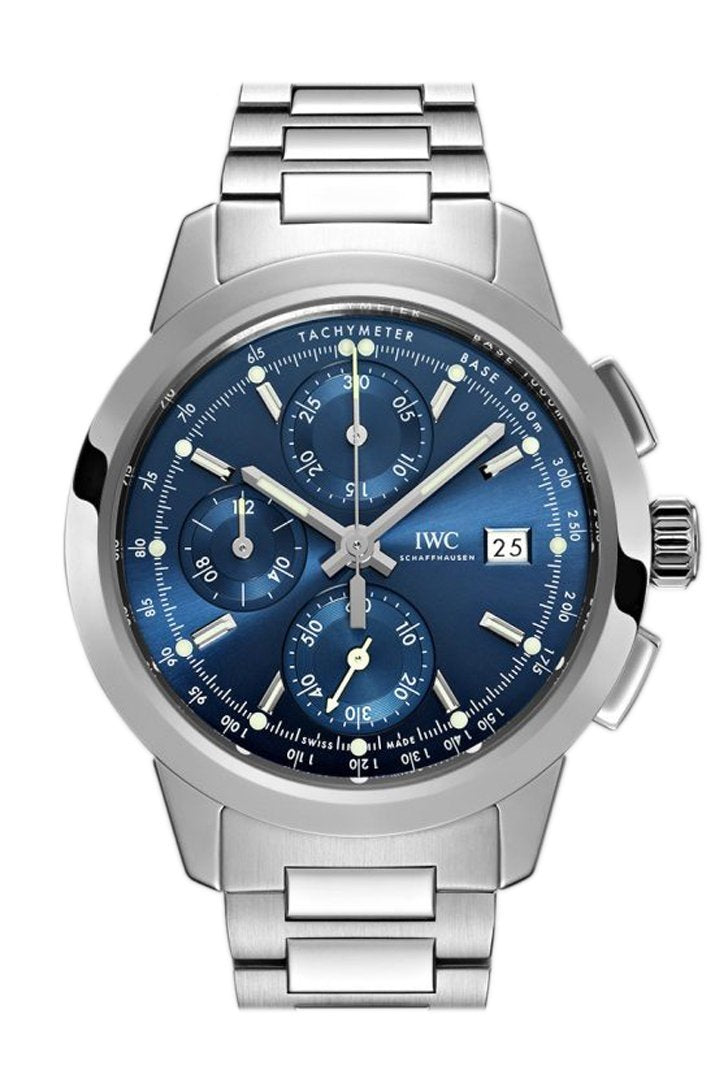 Iwc Ingenieur Chronograph 42.3Mm Mens Watch Iw380802 Blue