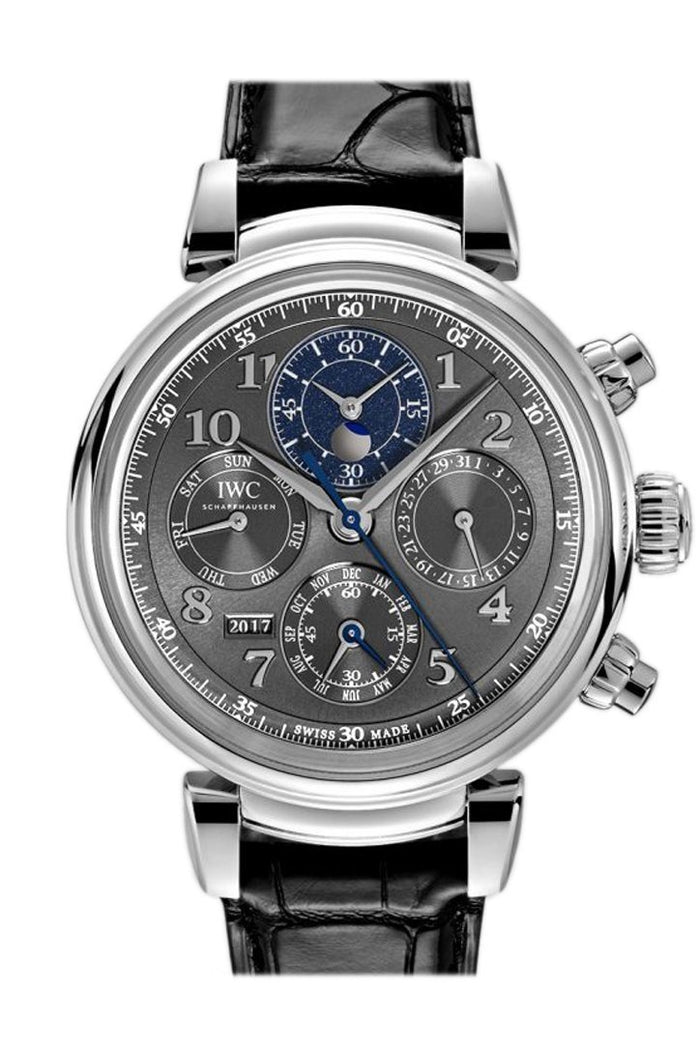 IWC Da Vinci  Slate Dial Automatic Perpetual Calendar 43mm Men's Watch IW392103