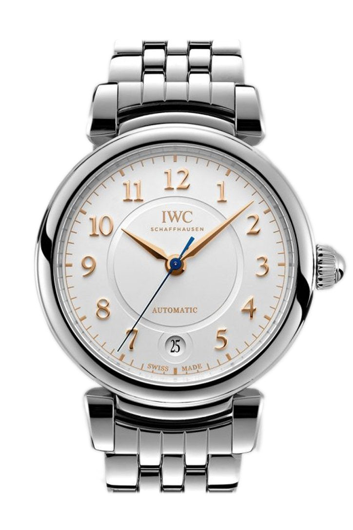 Iwc Da Vinci Silver Dial Automatic 36Mm Mens Watch Iw458307