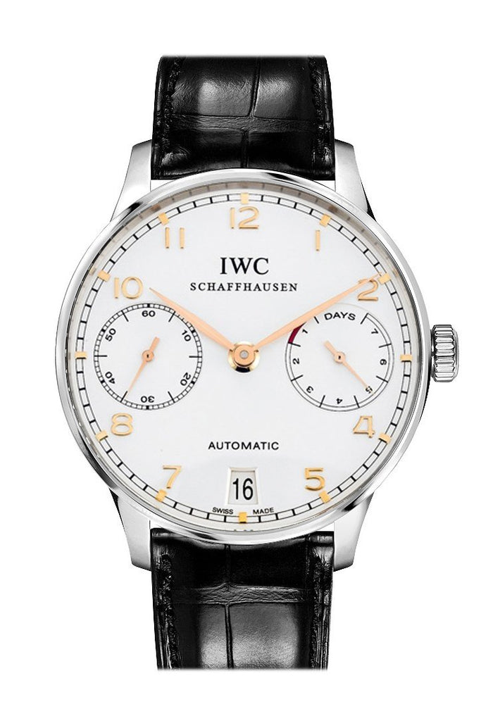 Iwc Portuguese Automatic 42.3Mm Mens Watch Iw500704 Silver