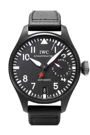 Iwc Big Pilot Top Gun Black Dial Automatic Power Reserve 48Mm Mens Watch Iw501901