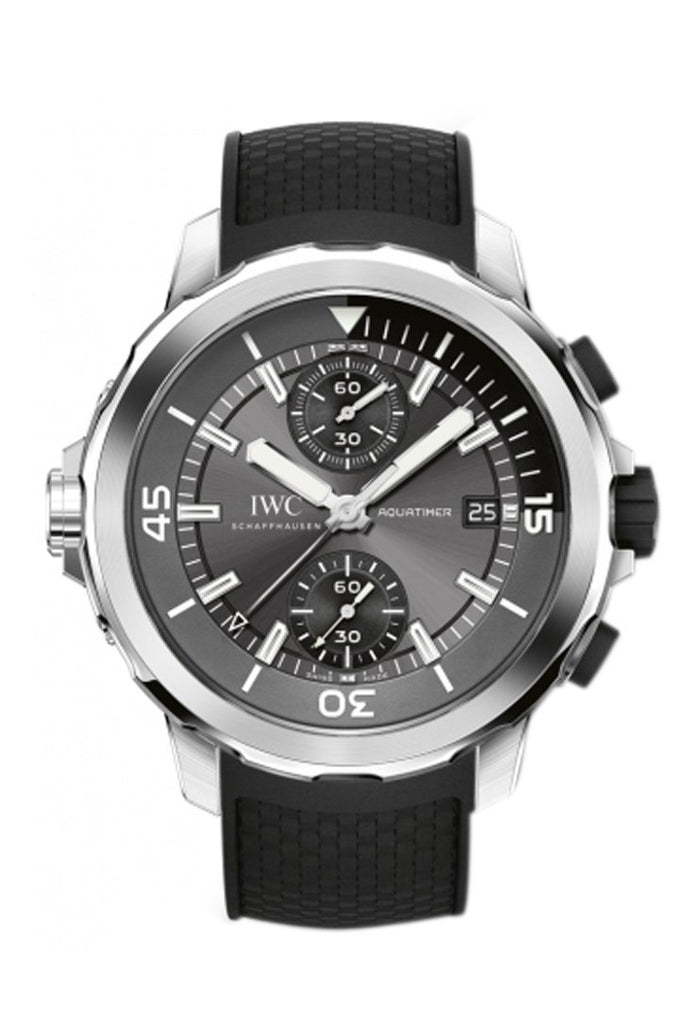 Iwc Aquatimer Grey Dial Automatic Mens Chronograph Watch Iw379506 / None
