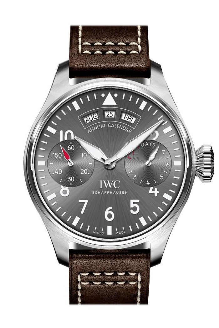 IWC Big Pilots Annual Calendar Spitfire Automatic Grey Dial 42mm Men's Watch IW502702