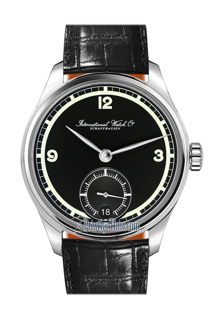 Iwc Portugieser 8 Days 75Th Anniversary Limited Edition Black Dial 42Mm Mens Watch Iw510205