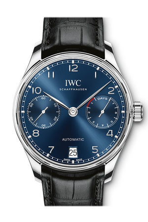 Iwc Portugieser Automatic Blue Dial Mens Watch Iw500710